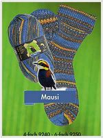 Opal Regenwald 4-fach  Mausi