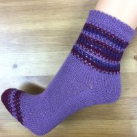 Socke *Melva*