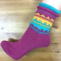 Socke *Indianka*