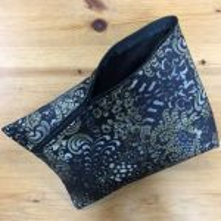Tasche *SantaFiore* - schwarz mit Ornamenten