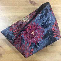 Tasche *SantaFiore Extremo* - schwarz mit floralen Ornamenten
