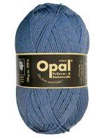 Opal Uni 6-fach - Jeansblau