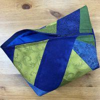 Tasche *SantaFiore* Patchwork - Blau-Grün