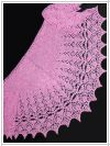 Crescent-Shaped Shawl *Angorina*