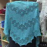 Crescent-Shaped Shawl *Cassandra*