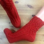 Socke *Mathilda*