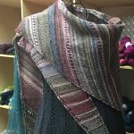 Angular Shawl - Colorways 1