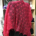 Angular Shawl *Ruby*