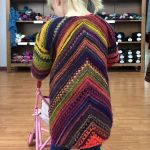 Colorways 2 - Long Cardigan