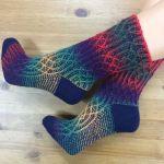 Set: Socks *Gothix* with the original yarn