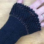 Wristwarmer *Gloriane* with beads