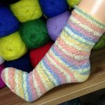 Socke *Petticoat*