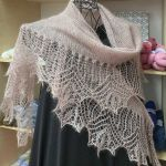 Set: Shawl *Comtesse* & Feeling Beige