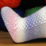 Socke *Brunhilde*